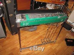 Sho Bsy sho bud ldg conversion pedal steel guitar 4x5 with great cond