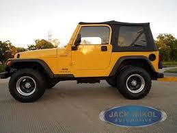 2000 jeep wrangler top replacement 97 06 jeep wrangler replacement top tinted ebay