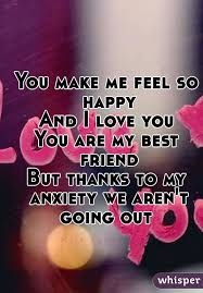make me feel so happy and i you you are my best friend but thanks