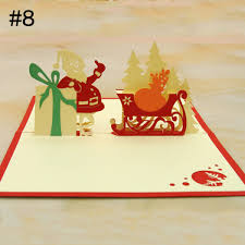 blessing cards handmade children fashion thank creative gift 3d greeting