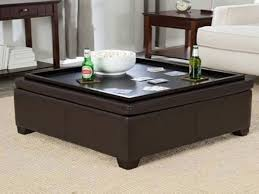 Big Ottoman Coffee Table House With Large Square Ottoman Coffee Table Plan And