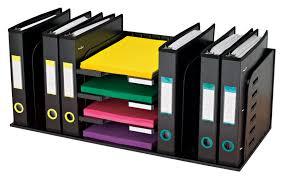 5 shelf desk organizer desktop organizers office organizing tips tools and ideas for an