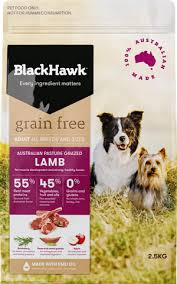 lamb grain free dog food range black hawk