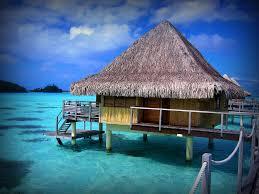 paradise bora bora tahiti over the water bungalow in bo u2026 flickr
