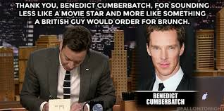 Benedict Cumberbatch Meme - jimmy fallon on benedict cumberbatch