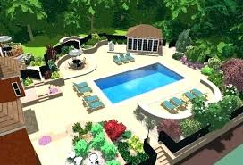 pool landscape ideas landscaping ideas for pool pictures simple