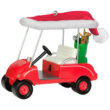 golf cart ho ho hole in one golf cart ornament keepsake ornaments hallmark