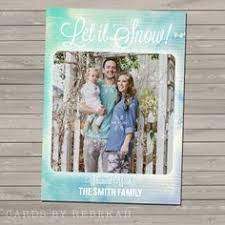 holiday photo card all that glitters by achessmoredesign on etsy