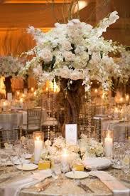 Tree Branch Centerpiece Unforgettable Miami Wedding With Acrobats Tiger Cubs U0026 Fireworks