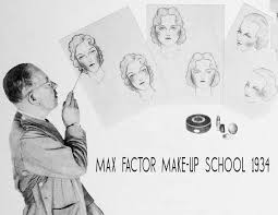 school of makeup max factor s school of make up 1934 glamourdaze