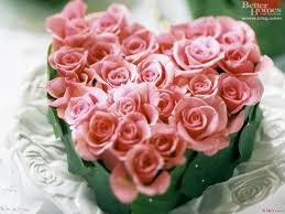 Flower Pictures Heart Shaped Bouquet Roses Flower Out Of Sweeheart Roses