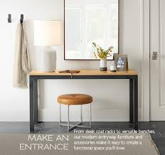 Entry Console Table Modern Console Tables Storage Entryway Furniture Room With Entry