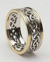 celtic rings mens celtic filigree wedding rings mg wed98