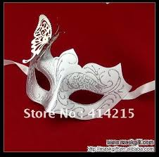masquerade masks wholesale butterfly wedding deco masquerade mask white silver favor