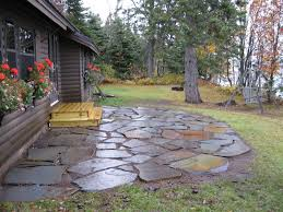 Patio Flagstone Designs Attractive Diy Flagstone Patio Ideas Patios Flagstone Patio
