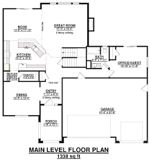 2 Story Great Room Floor Plans by Reagan St Aubyn Homes