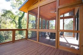 atlanta screen porch panels deck contemporary with wood ceiling