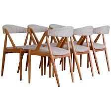 Teak Dining Room Chairs Kai Kristiansen Model 31 For Schou Andersen Set Of Six Dining