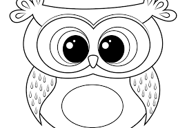 Fancy Owl Coloring Page On Seasonal Colouring Pages Free Printable Owl Color Pages