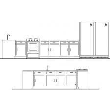 bloc autocad cuisine cuisine bloc unités de cad cadblocksfree cad blocks free