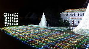 christmas decorations light show where to see the best christmas light displays in nj 2016