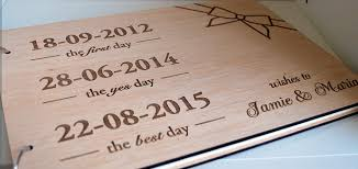 wedding book quotes wood wedding guest book wedding guest book by woodyourday on zibbet