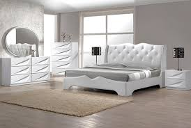 White Leather Bedroom Furniture White Leather Bedroom Set Tags Modern Furniture Sets Fascinating