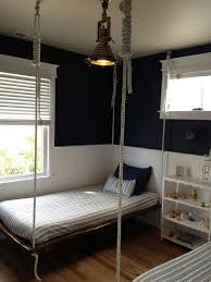 Boys Bed Frame Rope Hanging Boys Bed Cottage Boy S Room
