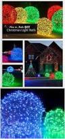 how to make christmas light balls outdoor christmas diy light