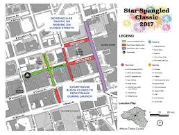 Uga Parking Map Star Spangled Classic With Fireworks Set For Saturday In
