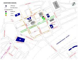 Wv Map Parking Map U0026 Rates Fairmont Wv Official Website