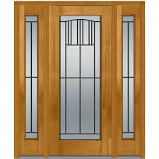 full glass entry door mmi door 36 in x 80 in madison right hand full lite classic