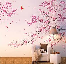 amazon com cukudy large size plum blossom cherry blossom flowers