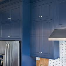 navy blue kitchen cabinet design photos hgtv