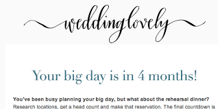 Simple Wedding Planner Free Online Wedding Planning Guide Weddinglovely