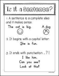 best 25 sentence anchor chart ideas on pinterest writing anchor