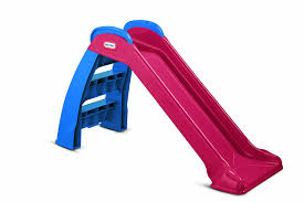 amazon com little tikes little tikes first slide red blue