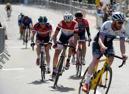 city green prix cyclists race through bristol city centre as thousands arrive for