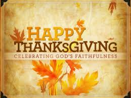 happy thanksgiving from pastor bob and family rafter j