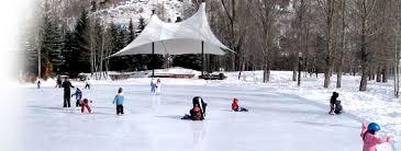 ice rink kits backyard hockey rink kits