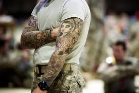 tattoos and turbans how the military adapts to changing times