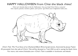 The True Origins Of Halloween by Happy Halloween From Chizi The Black Rhino Chizi U0027s Tale