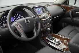 2017 nissan armada platinum interior 2018 nissan armada platinum nissan s flagship barge gets more tech