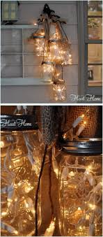 how to make mason jar lights with christmas lights 40 diy mason jar ideas tutorials for holiday mason jar lighting