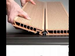 flat roof composite deck materials youtube
