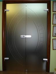 comercial glass doors classic wooden door with frosted glass