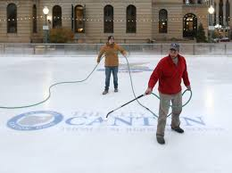 downtown ice rink ready to open thursday news the repository
