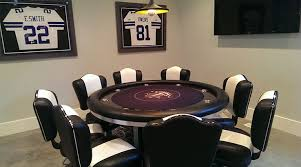 round poker table with dining top round poker tables gallery pharaoh usa