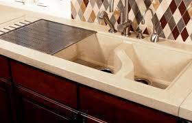 Stone Sinks Kitchen by Concrete Kitchen Sink Kitchen And Bar Sink Designs Homeportfolio