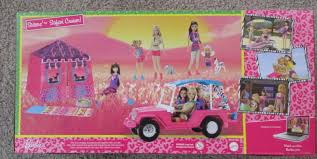 vintage barbie jeep mattel bhf96 barbie sisters safari cruiser ebay